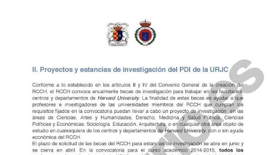 El proyecto de investigación del rector Suárez