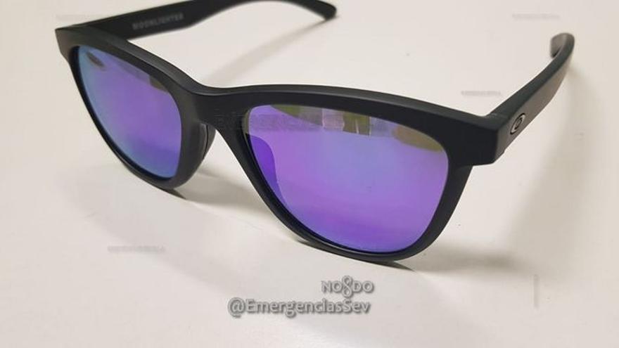 Las gafas de sol Oakley que supuestamente Boza robó de un centro comercial de Sevilla.