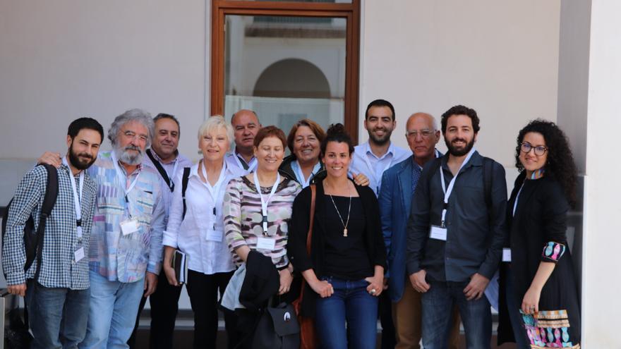 Reunión en el Parlamento andaluz sobre Oriente medio