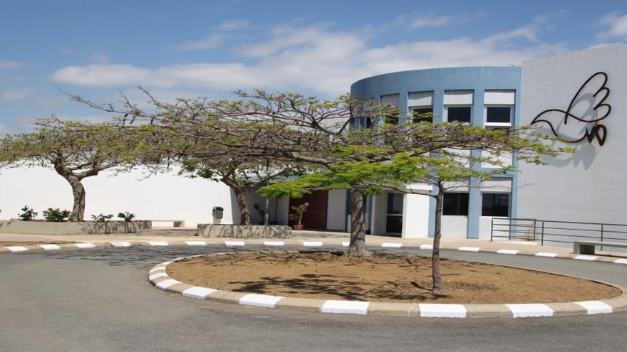 Sede de la Fundación Canaria Yrichen, en La Pardilla (Telde).