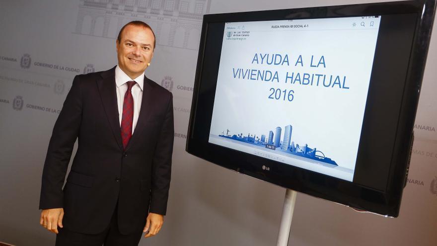 El alcalde Augusto Hidalgo presenta esta nueva iniciativa social del Gobierno municipal