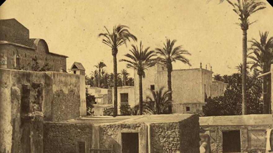Viaje por España. Conde de Lipa, Elche. 1860-65. Colección particular