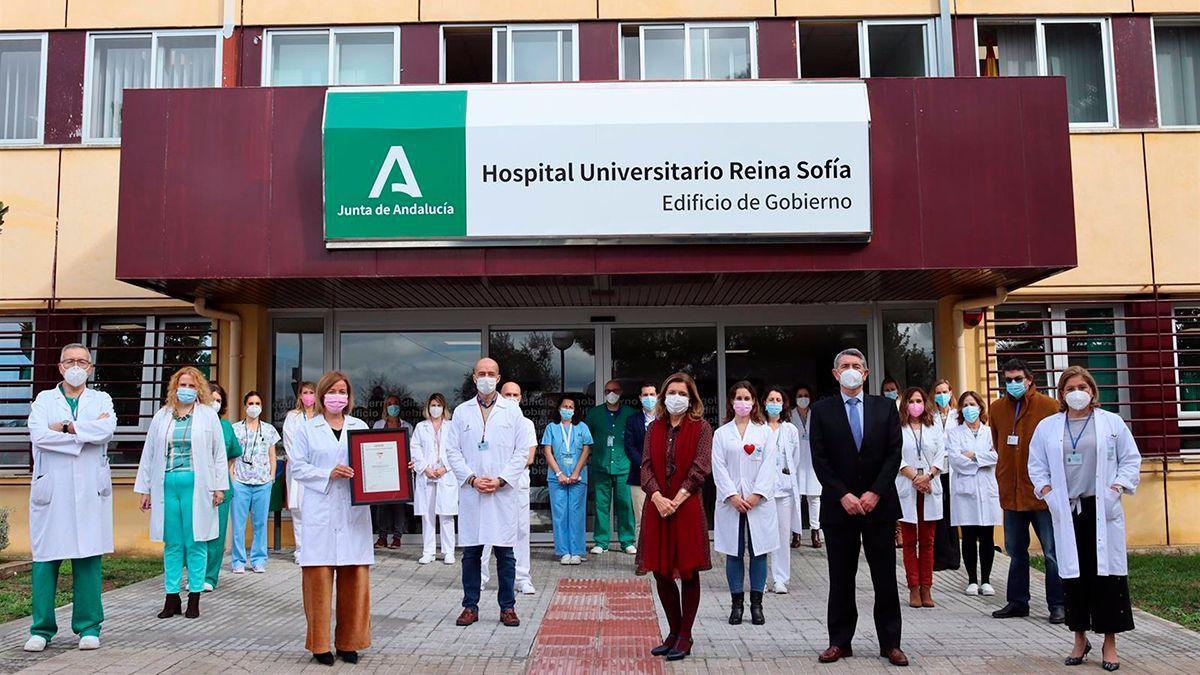 Entrega al Hospital Universitario Reina Sofía del distintivo Índice de Humanización de Hospitales Infantiles por Aenor.