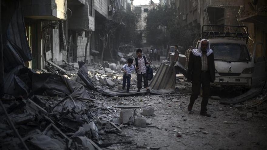Al menos 4.272 muertos por bombardeos de la coalición internacional en Siria