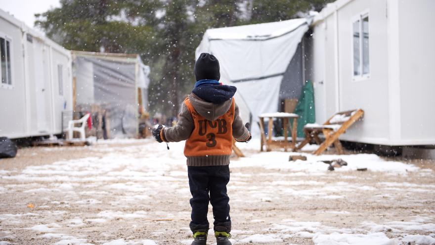Campo de refugiados de Ritsona, Grecia / Íñigo G. Sola