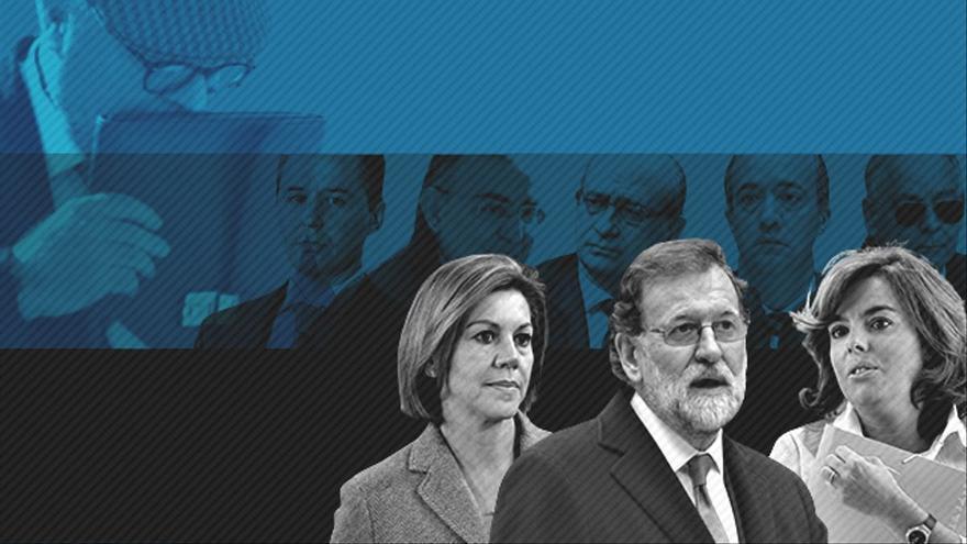 Fernández Díaz y su número dos se enzarzan entre ellos y alejan el caso Kitchen de Rajoy, Cospedal y Santamaría