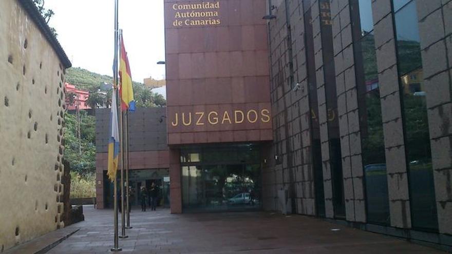 Palacio de Justicia localizado cerca de la plaza de los Adelantados, en la ciudad de Aguere