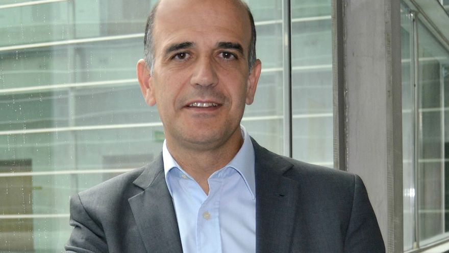 El presidente del Parlamento de Navarra, Alberto Catalán.