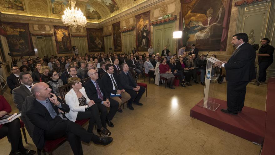 Imagen de la III Cumbre de Alcaldes organizada por la Diputación de Castellón.