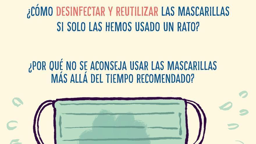 Cómo desinfectar mascarillas