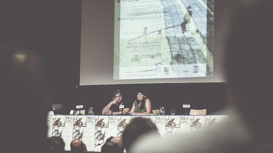 Inauguración de las jornadas. Foto: Oshito para REAS Aragón