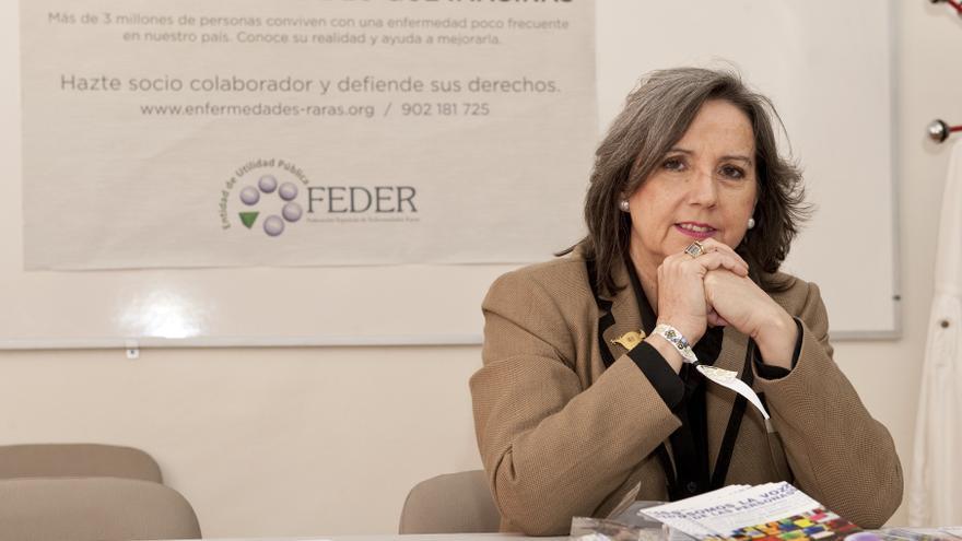 Juana María Sáenz, delegada de FEDER Euskadi.