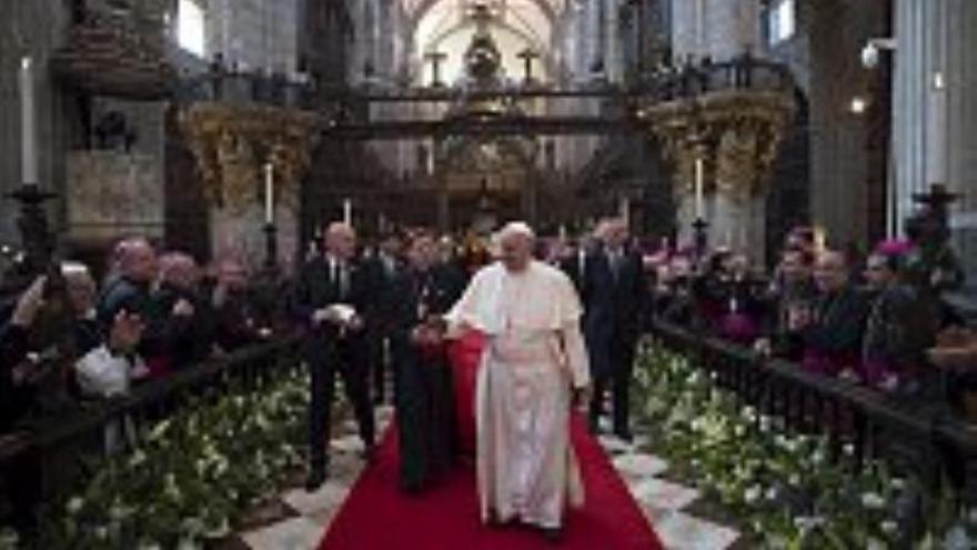 """El Papa citó a Octavio Paz para hablar del """"destino incumplido de México"""""""