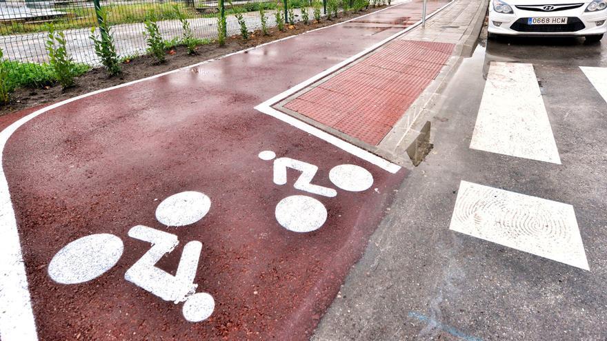 Carril bici de Santander.