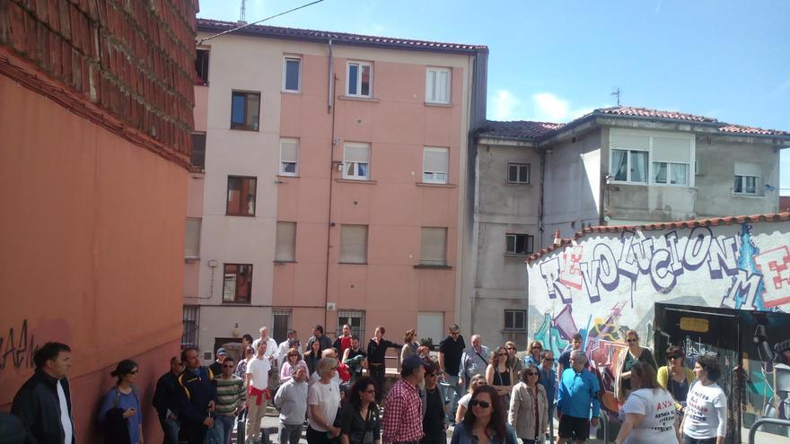 Más de medio centenar de personas acudieron a la invitación de la Plataforma Salvemos Prado San Roque y la Asociación de Vecinos Antonio Cabezón y Francisco Ginés.