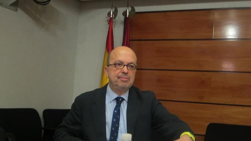 Nacho Villa, foto comité de empresa de Castilla-La Mancha Televisión