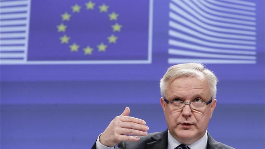 El comisario de Asuntos Econçomicos, Olli Rehn. EFE