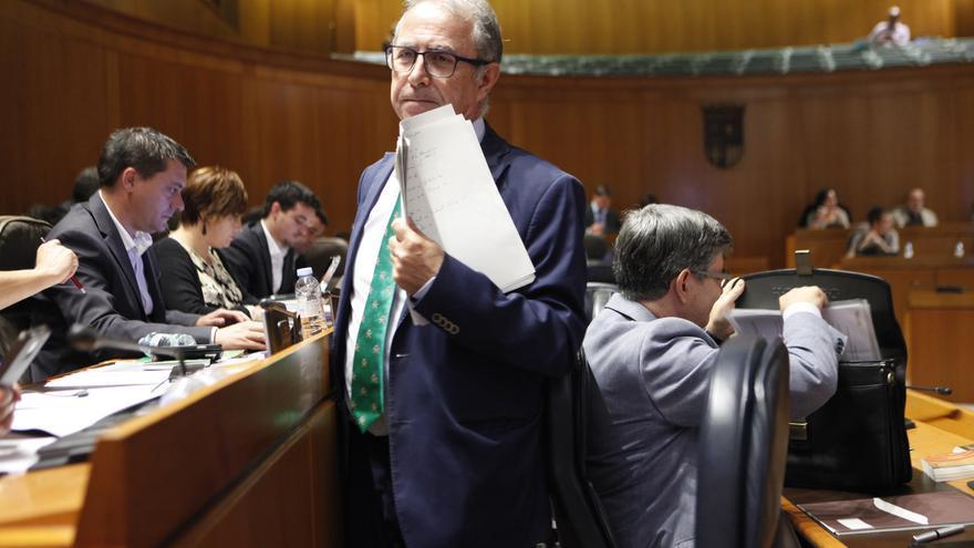 Fernando Gimeno, consejero de Hacienda del Gobierno PSOE-Cha que preside Javier Lambán.