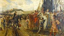 Lienzo 'La Rendición de Granada' de Francisco Padilla, 1882