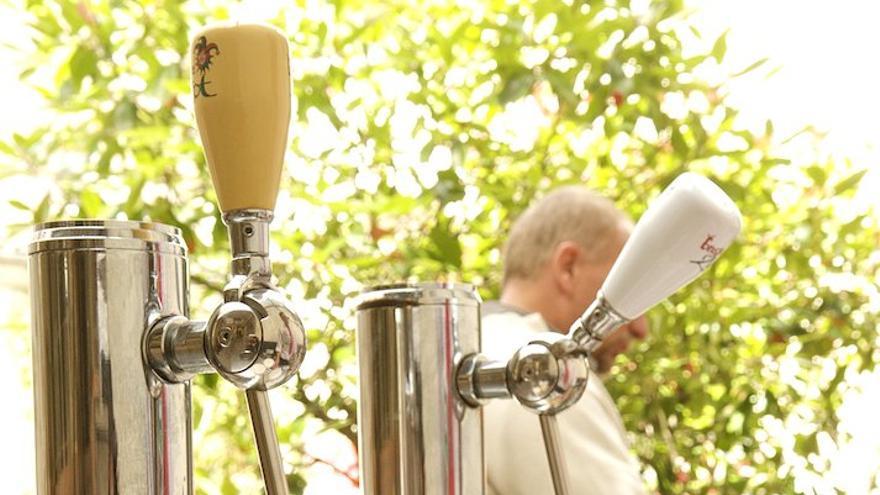 La muerte de una cerveza  por el clima