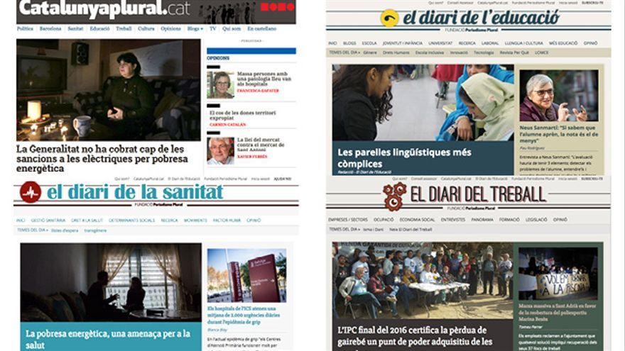 Los diarios de la Fundació Periodisme Plural