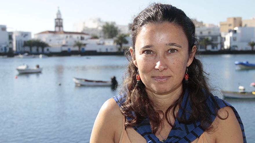 Natacha Aguilar, bióloga marino. Foto: De la Cruz.
