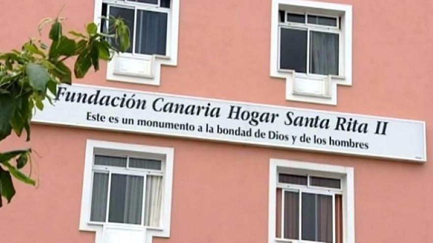 Imagen del centro de mayores donde se produjo la muerte con violencia, en Puerto de la Cruz
