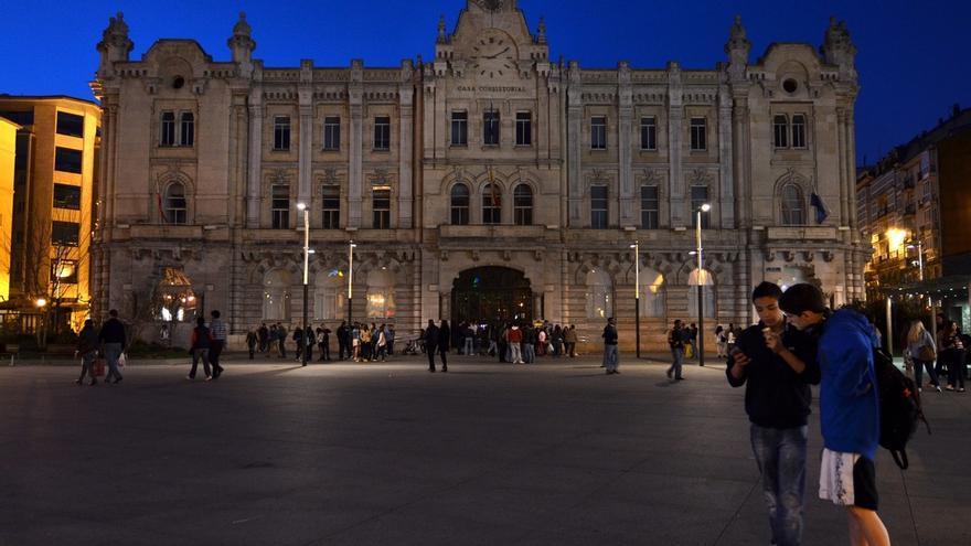 Santander secundará un año más 'La hora del planeta' apagando las luces de sus principales edificios