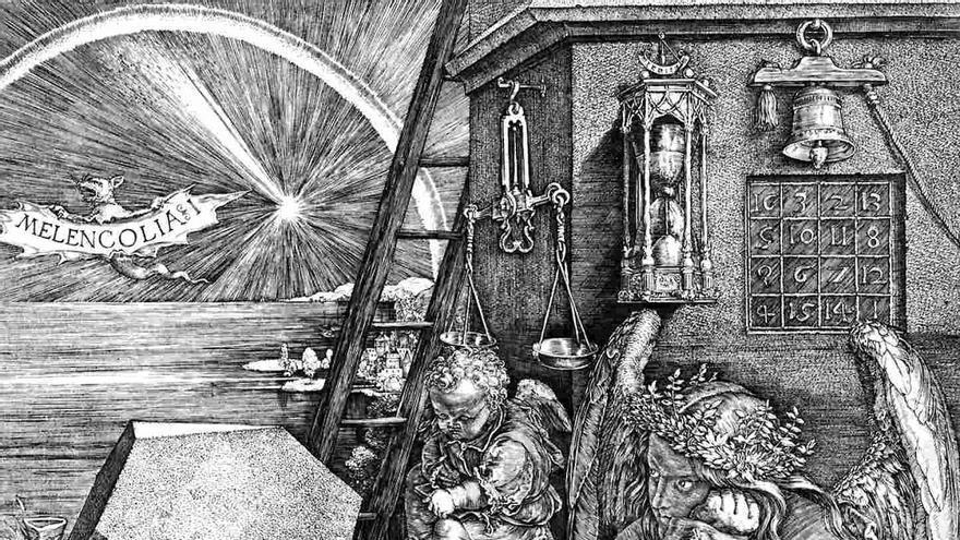 'Melancolia I', Alberto Durero (1514)