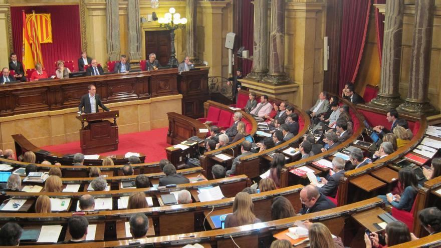 CiU, ERC e ICV-EUiA cargan contra el rechazo del PSC a la declaración de soberanía