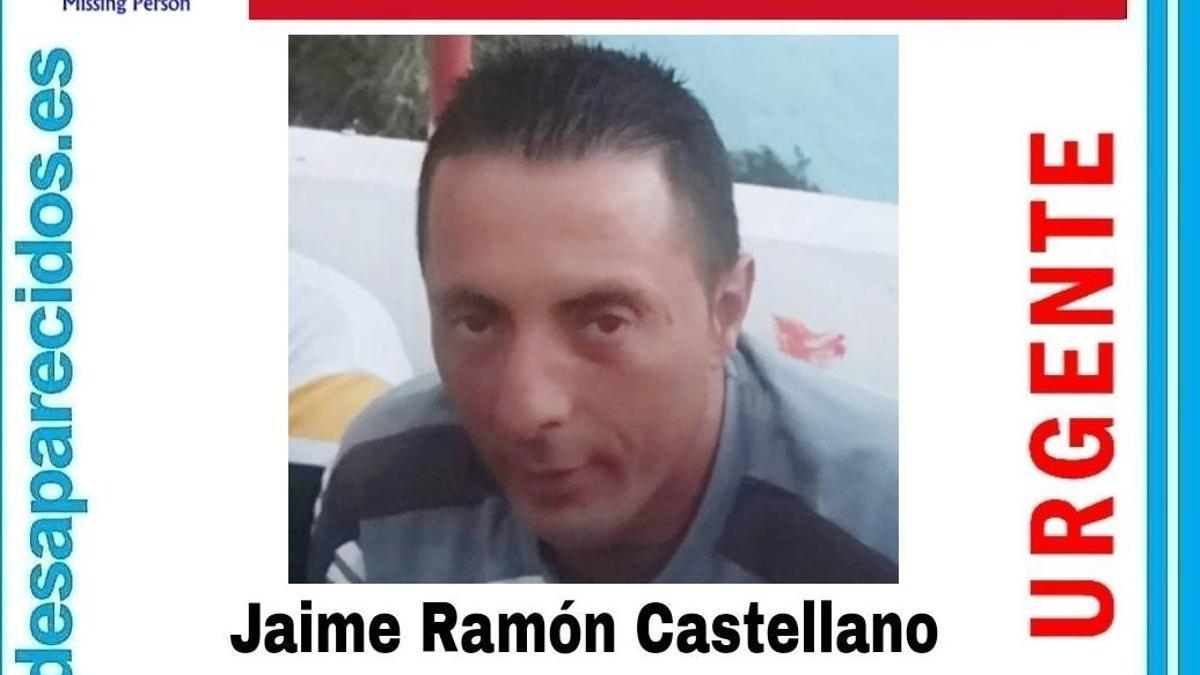 Localizado el cuerpo sin vida de Jaime Ramón Castellano, desaparecido desde el 3 de julio