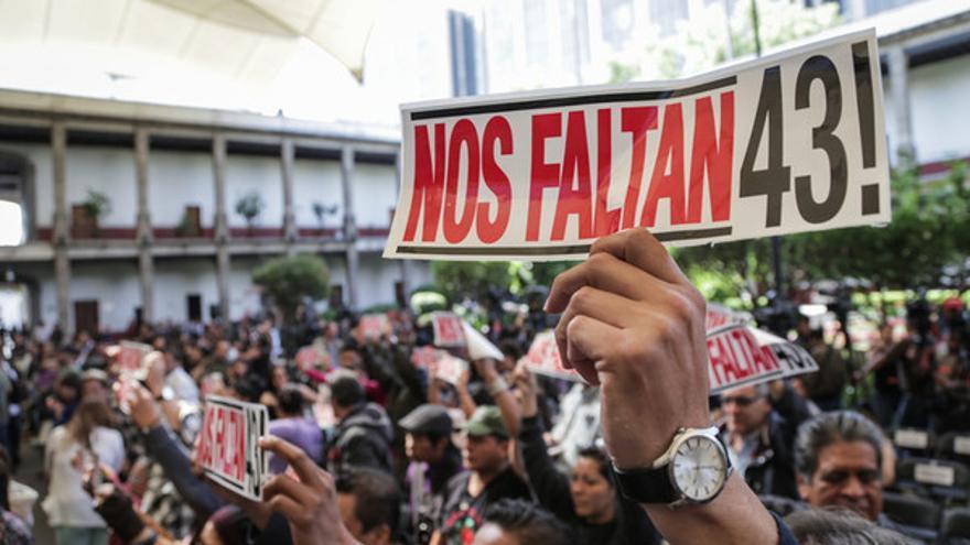 Aunque el caso de los 43 estudiantes de Iguala tuvo mucha repercusión mediática, la realidad es que en el país más de 35.000 personas se encuentran en paradero desconocido// Amnesty International/Sergio Ortiz Borbolla
