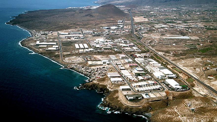 El polígono industrial de Güímar, en una imagen de archivo
