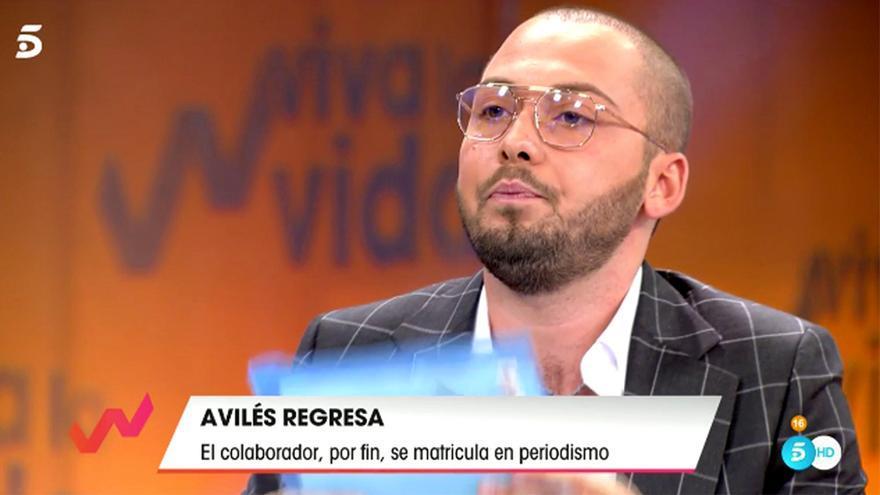 José Antonio Avilés en 'Viva la vida'