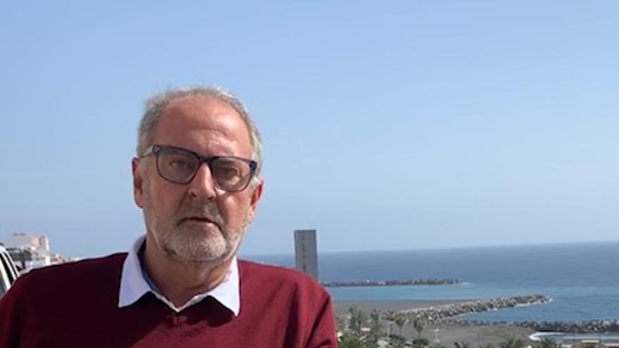 Elías Castro Feliciano, candidato del PSOE a la Alcaldía de Santa Cruz de La Palma.