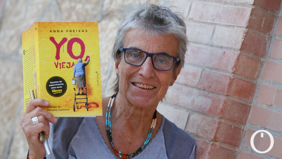 Anna Freixas presenta su libro 'Yo, vieja'