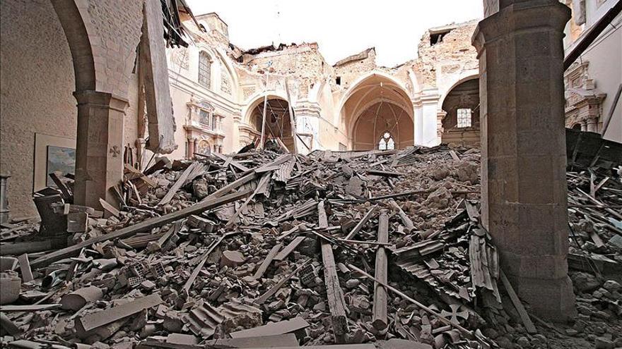 """L'Aquila encara, tras el seísmo, el """"riesgo"""" de la despoblación"""
