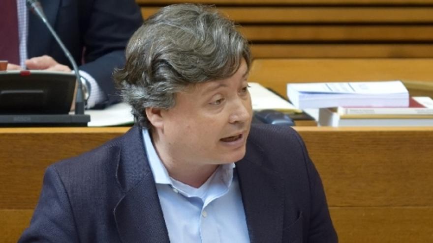 Luis Santamaría, presidente de la gestora del PP de València