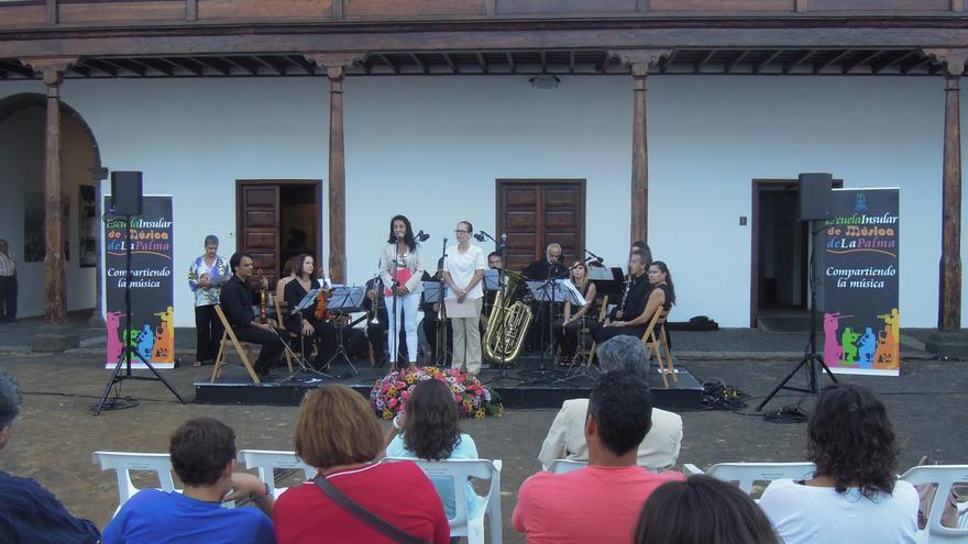 Acto de inauguración del curso 2016-2017 de la Escuela de Música de La Palma.