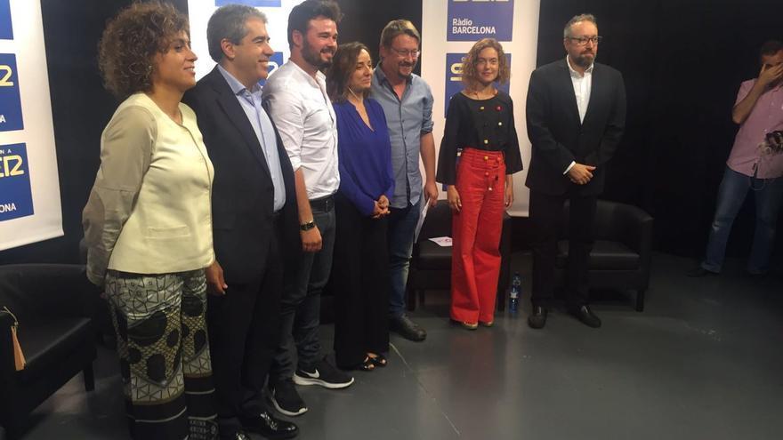 Foto de los candidatos que han participado en el debate