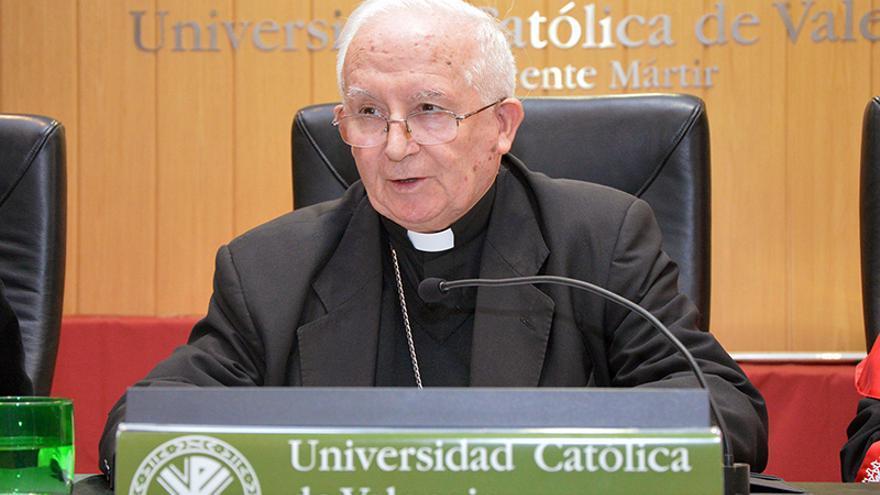 Antonio Cañizares, Gran Canciller de la UCV y Arzobispo de València