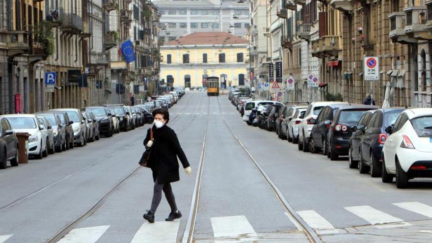 Italia registra 10.779 muertos y preocupa la situación económica del Sur