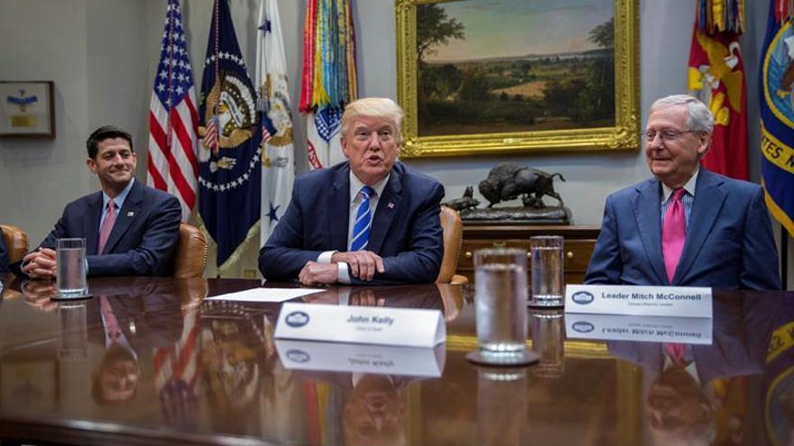 Trump declara emergencia por Irma en las islas Vírgenes, Puerto Rico y Florida