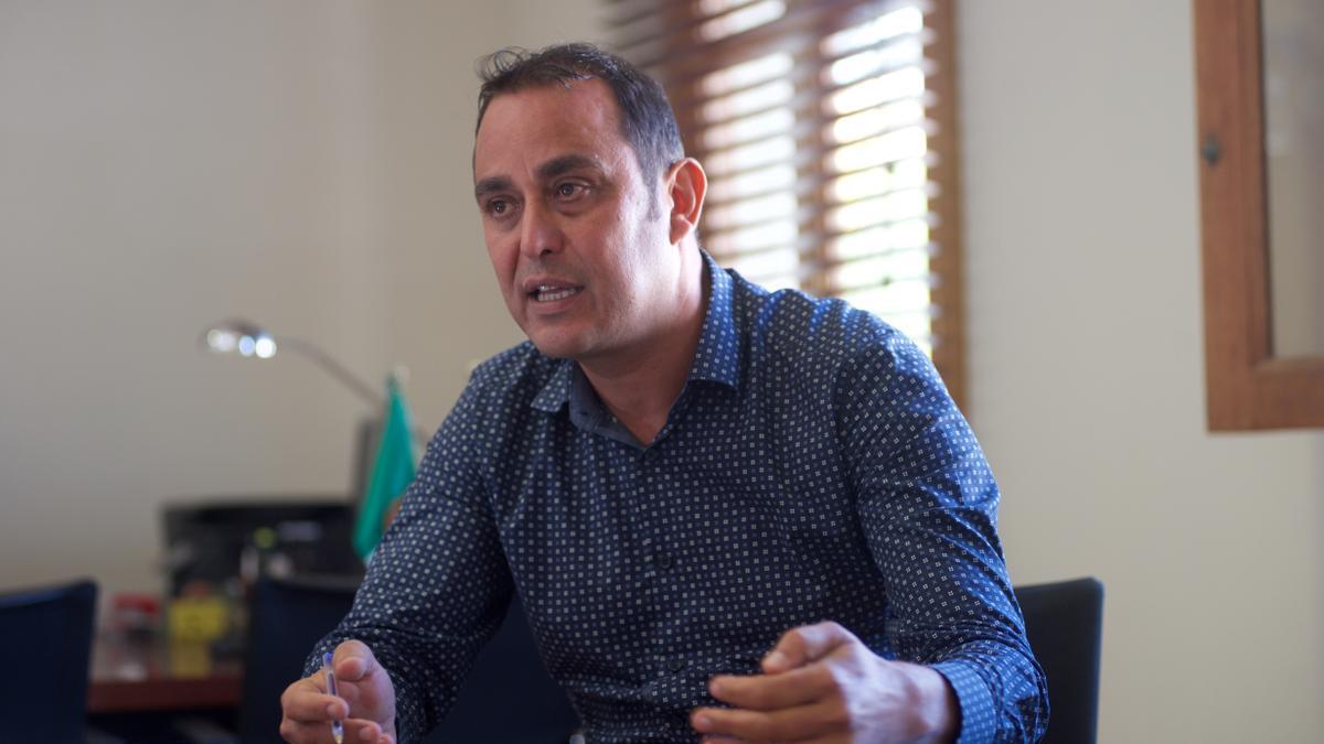 Blas Acosta, en una imagen de archivo