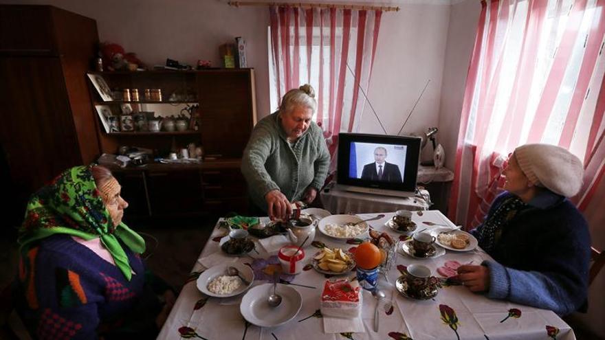 Ucrania obliga por ley que el 75 % de programas televisivos sean en ucraniano