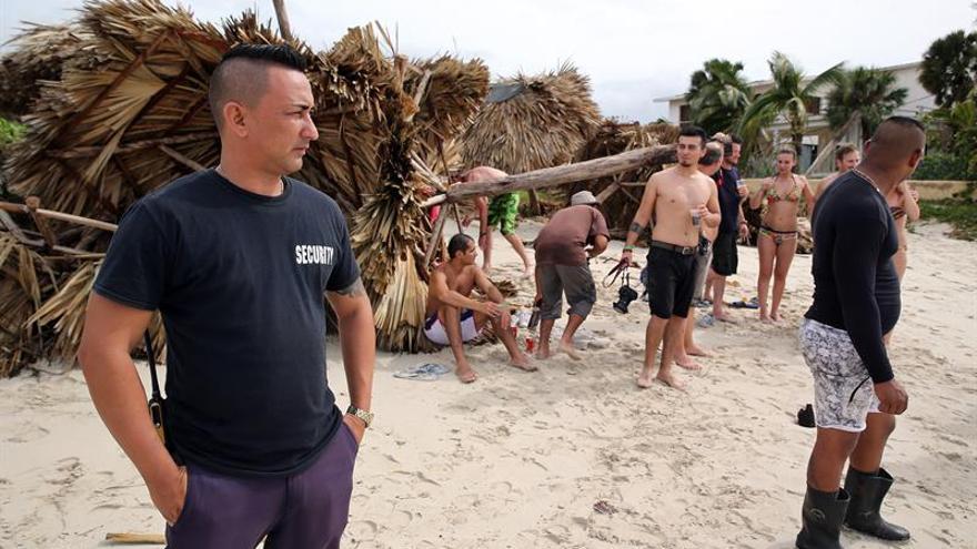 En Varadero, Irma no arruina las vacaciones a miles de turistas