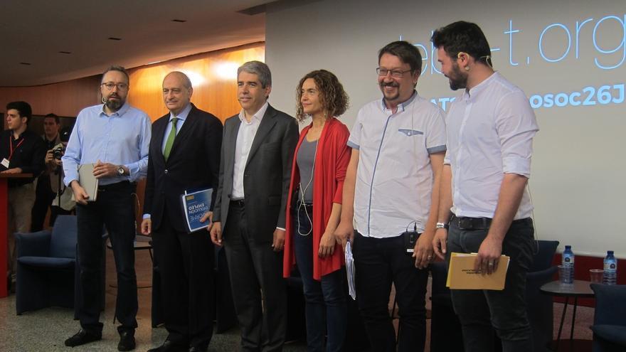 Cruce de reproches entre los candidatos catalanes por la repetición de elecciones