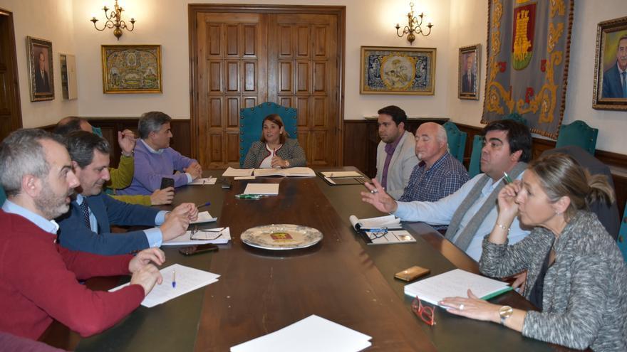 Reunión del pacto por el ferrocarril en Toledo