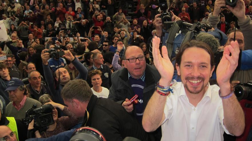 """Iglesias: """"En Grecia esta noche ya se escucha 'tic, tac' y queremos que se escuche muy pronto en España también"""""""