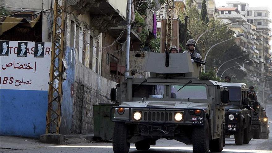 Acusadas nueve personas por planear atentados terroristas en el Líbano